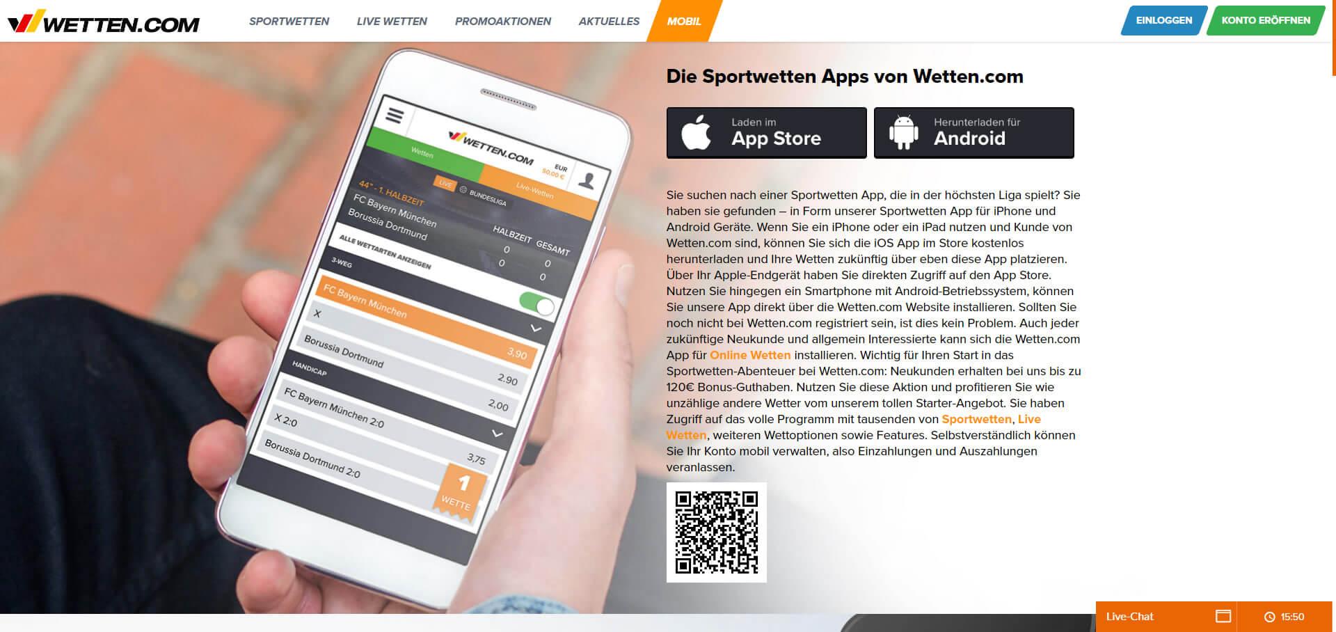 wettencom app